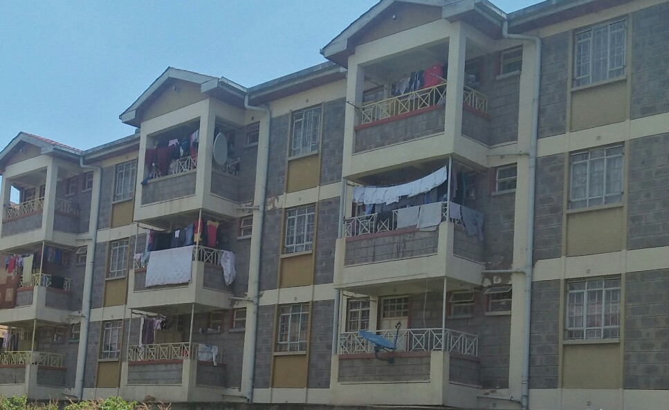Dofra Solutions is selling a block of flats at Imara Daima. The flat has 12 units of two bedrooms which are charged ksh 30,000 per unit and 2 units of one bedroom which are charged ksh 25,000. The property is fully occupied and located in a gated community setting. Monthly rental income of the flat is ksh 410,000 and the selling price is ksh 51M. The property has a title deed and it's a viable property investment. For more details and viewing contact us on 0720658764 or send us an email to info@dofrasolutions.com