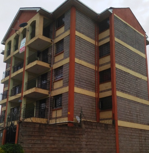 Dofra Solutions is selling a block of flats at Ruaka Kiambu. The flat has 9 units of two bedrooms which are charged Ksh 35,000 per unit.  The property is located in an ideal location and it has tenants. The neighborhood is secure and there is no shortage of water .The monthly rental income of the flat is Ksh 315,000. The selling price of the block of flat is ksh 42m and it has a title deed. For more details and viewing contact us on 0720658764 or send us an email to info@dofrasolutions.com.
